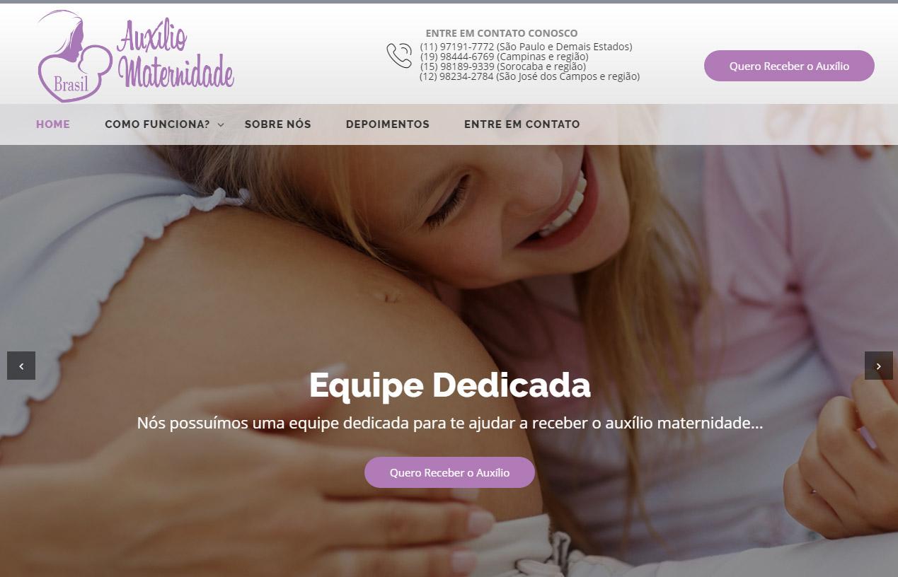 Auxílio Maternidade Brasil