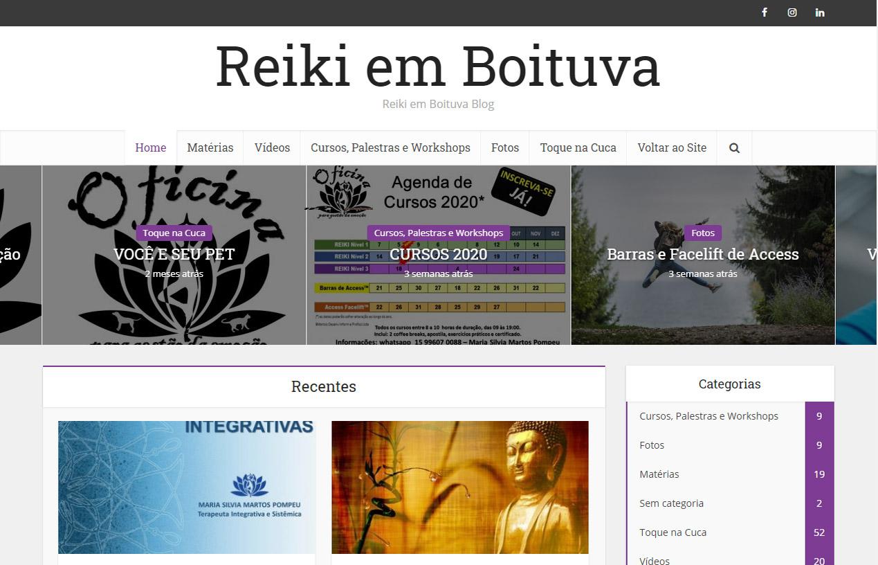 Blog Reiki em Boituva