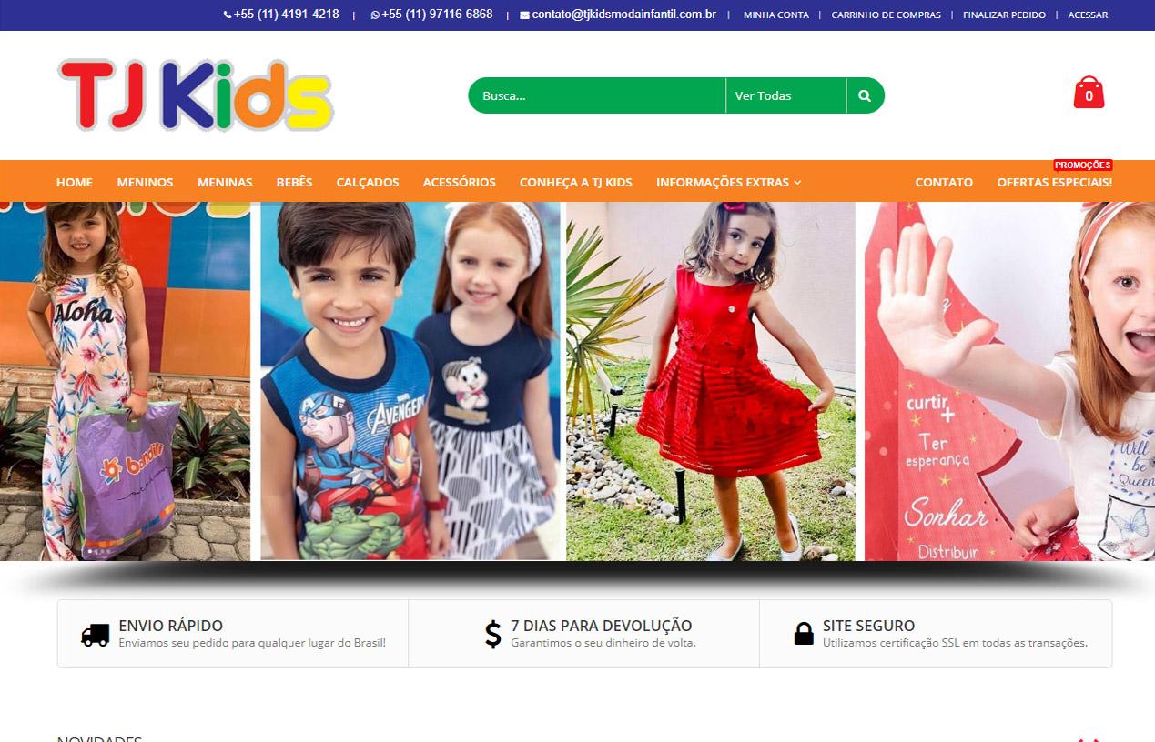 TJ Kids Moda Infantil