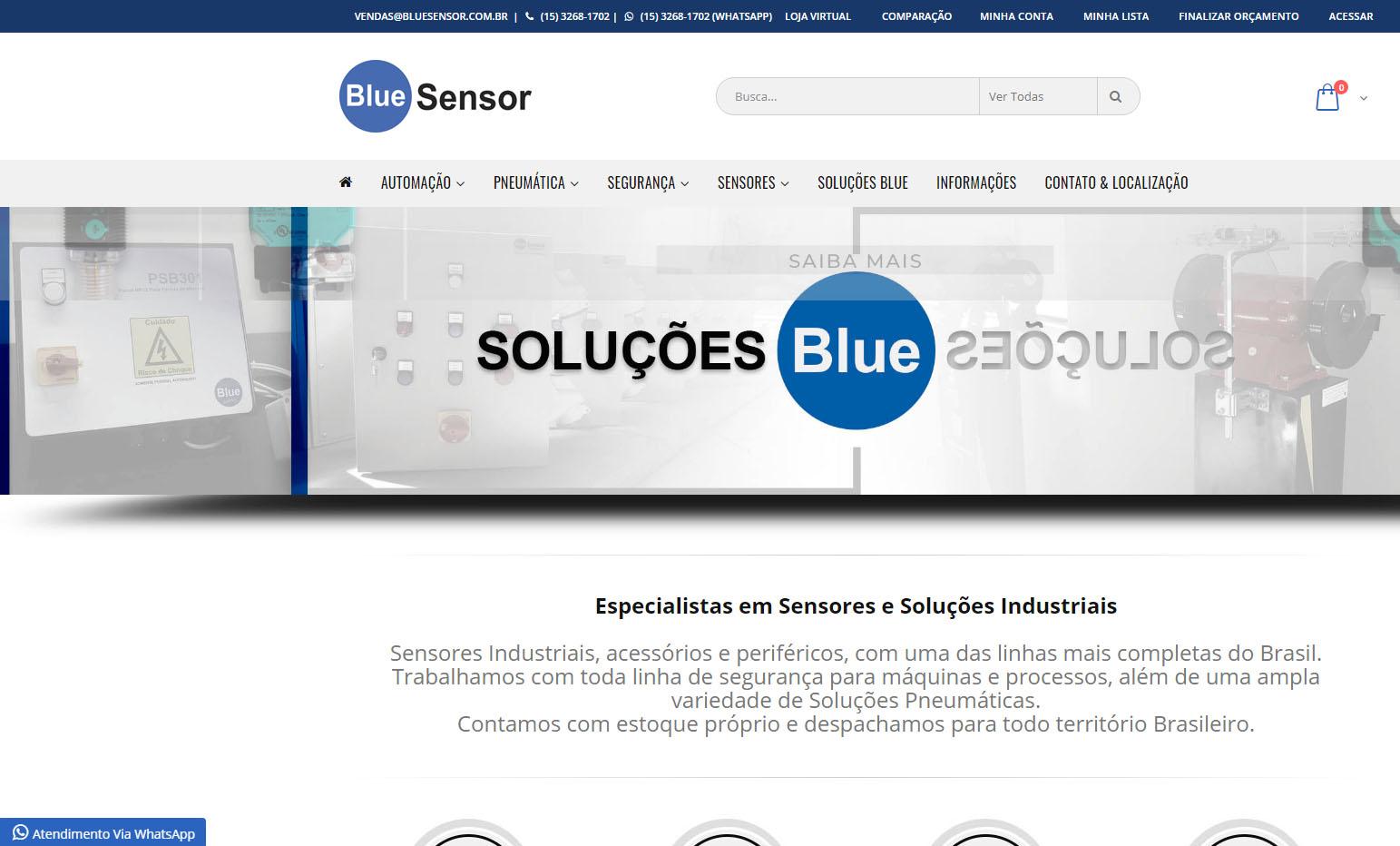 Blue Sensor
